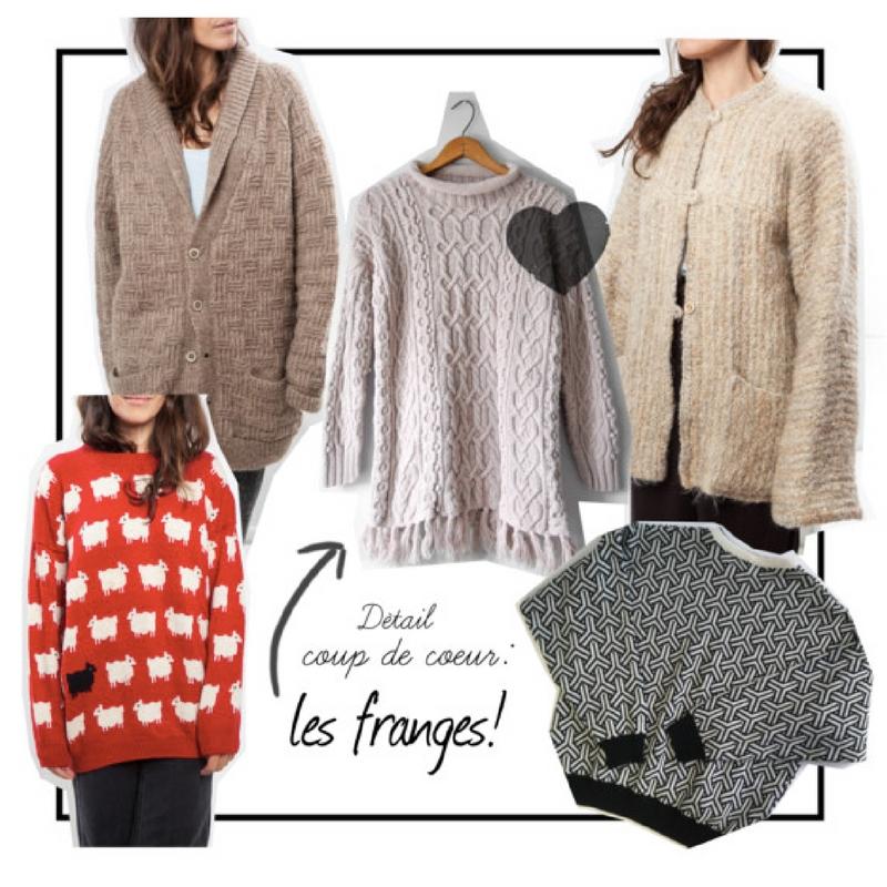 des tricots pour un novembre plus doux